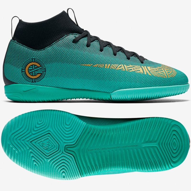 new arrival 4946e e370b Buty halowe Nike Mercurial Superfly 6 Academy GS CR7 IC Jr AJ3110-390