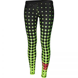 Spodnie treningowe FeelJ! Dots Lime Long W 262