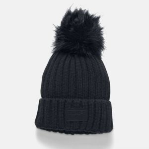 Czapka Under Armour Snowcrest Pom Beanie 1299905-001
