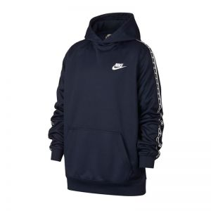 Bluzy Nike NSW Repeat PO Hoodie Junior AV8389-451