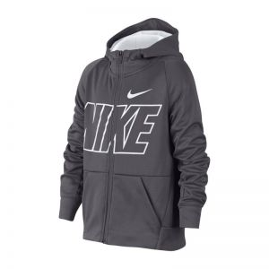 Bluza Nike JR Therma Hoodie FZ GFX Junior 939851-021