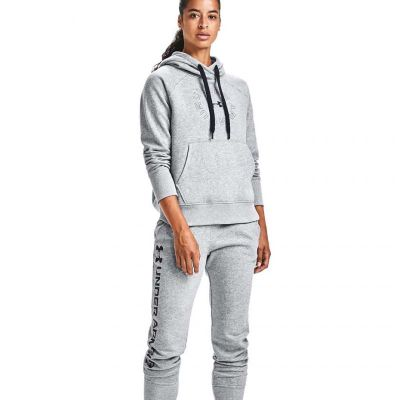 Bluza sportowa Under Armour Rival Fleece Metallic Hoodie W 1356323 035