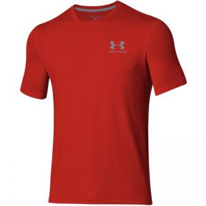 Koszulka treningowa Under Armour Sportstyle Left Chest Logo M 1257616-600