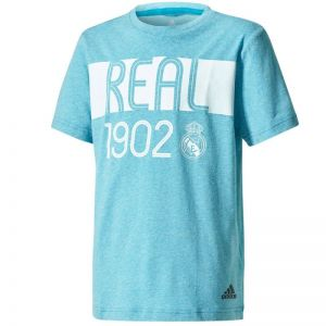 Koszulka adidas YB Real Madrid Tee Junior CE8939