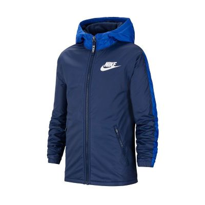 Kurtka Nike Nsw Fleece Iined Jr CU9152-410