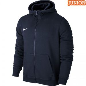Bluza Nike Team Club FZ Hoody granatowa JR 658499 451