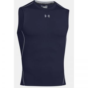 Koszulka termoaktywna Under Armour HeatGear Compression Sleeveless 1257469-410