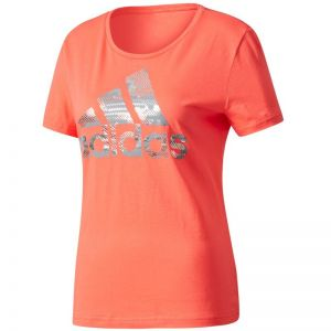 Koszulka adidas Essentials Foil Bos Regular Tee W CD1955