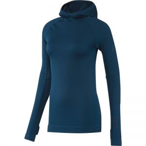 Bluza adidas Seamless Climaheat Hooded Longsleeve W AP7347