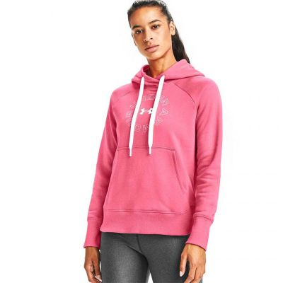 Bluza sportowa Under Armour Rival Fleece Metallic Hoodie W 1356323 668