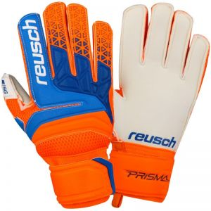 Rękawice bramkarskie Reusch Prisma SG Finger Support Junior 38 72 810 290