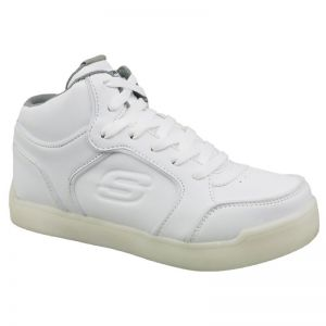 Buty Skechers Energy Lights Jr 90622L-WHT