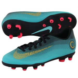 NIKE MERCURIALX VAPOR 12 CLUB GS CR7 FG/MG JUNIOR AJ3095-390