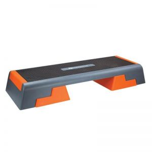 Step do aerobiku HMS Premium AS007 BLACK/ORANGE