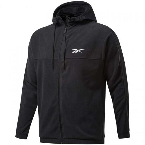 Bluza Reebok Workout Ready Fleece Full Zip Hoodie M FS8450