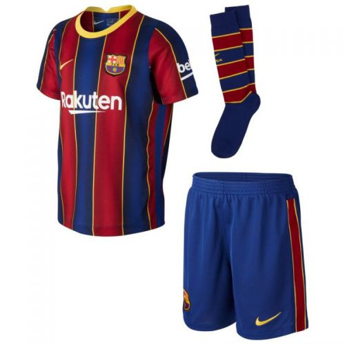 Komplet Nike FC Barcelona 2020/21 Home Jr CD4590 456