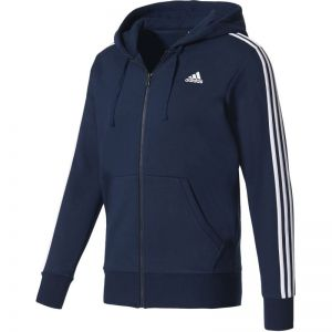 Bluza adidas Essentials 3 Stripes Full Zip Fleece M S98791