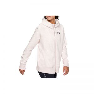 Bluza Under Armour Rival Fleece Sportstyle LC Sleeve Graphic Full Zip W 1348559-667