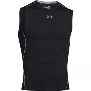 Koszulka termoaktywna Under Armour HeatGear Compression Sleeveless 1257469-001