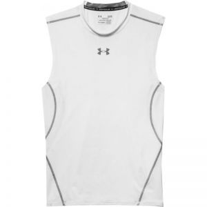 Koszulka termoaktywna Under Armour HeatGear Compression Sleeveless 1257469-100