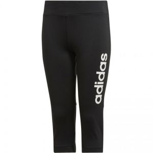 Legginsy adidas TR Linear 3/4 tight JR DV2774