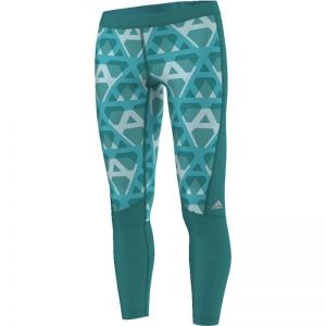 Legginsy treningowe adidas Techfit Long Tight Print W AI2964
