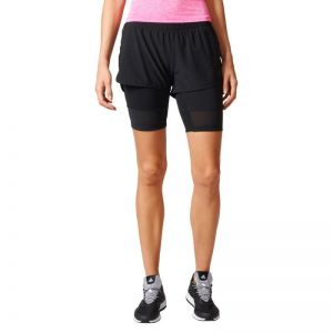Spodenki treningowe adidas Two-in-One Long Shorts W BK7690