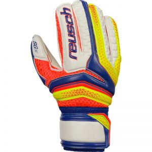 Rękawice bramkarskie Reusch Serathor SG Finger Support Junior 37 72 810 456